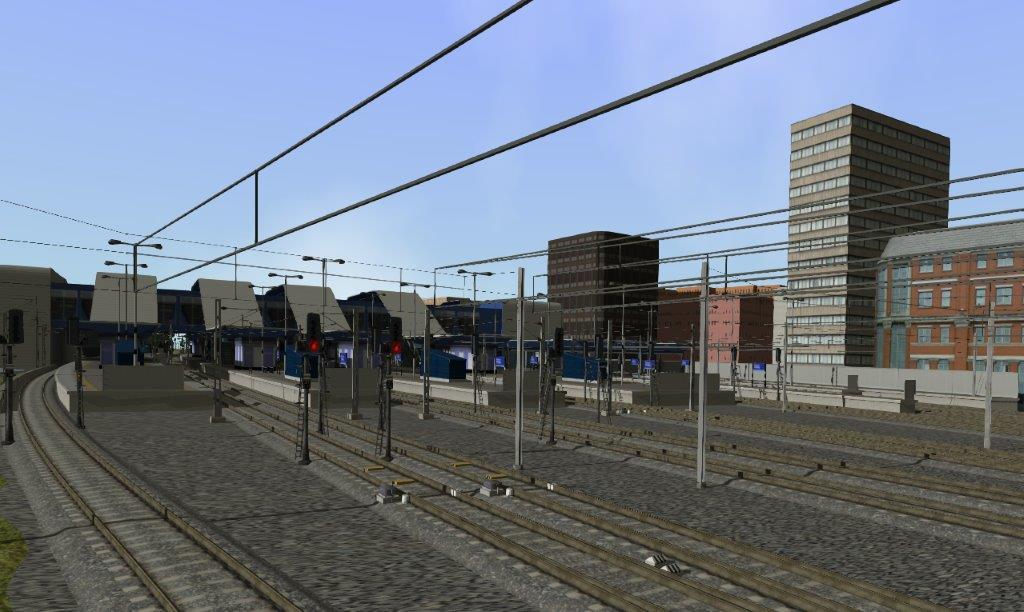 Reapertura Real de 'Reading Station' de Gran Bretaña