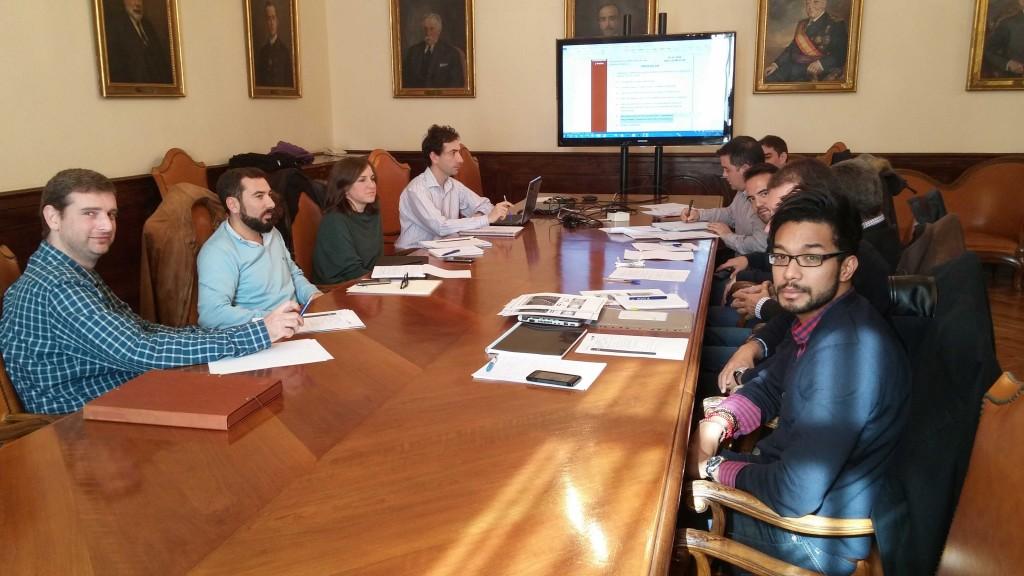 Reunión del Consorcio del proyecto Simuladores de Mantenimiento Ferroviario (SIMAFE)