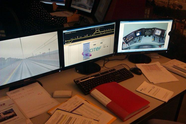 DGF certifica el simulador fruto del acuerdo entre CEFF y CITEF