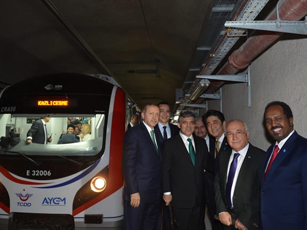 Se inaugura el túnel del Marmaray