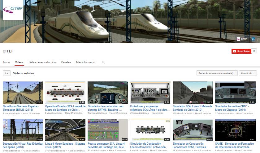 Lanzamos el canal de video de CITEF en YouTube