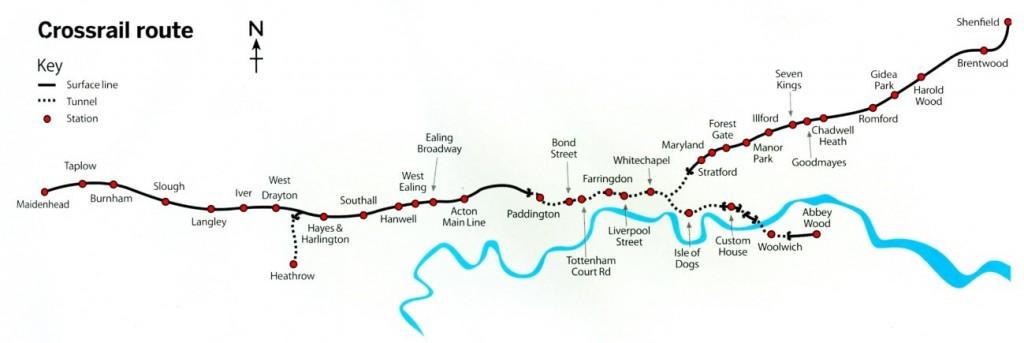 Participação no Crossrail Integration Facility