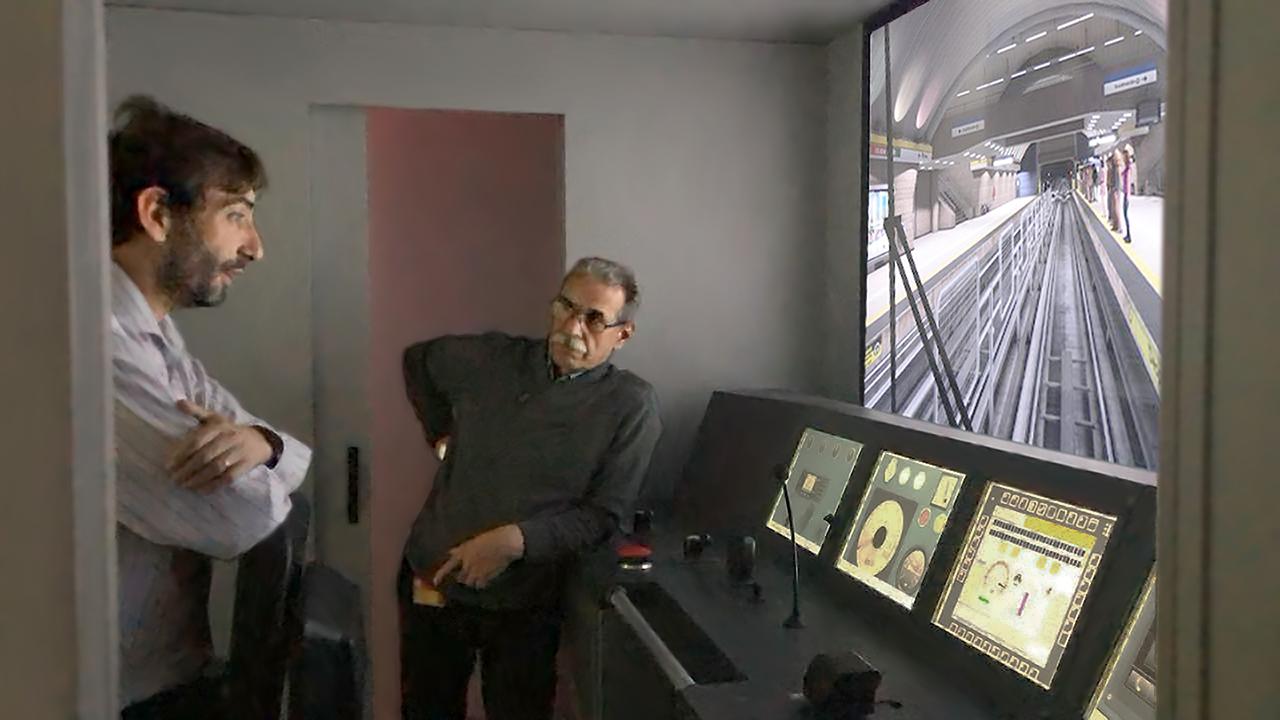Nuevo simulador de formación para Metro de Santiago 01