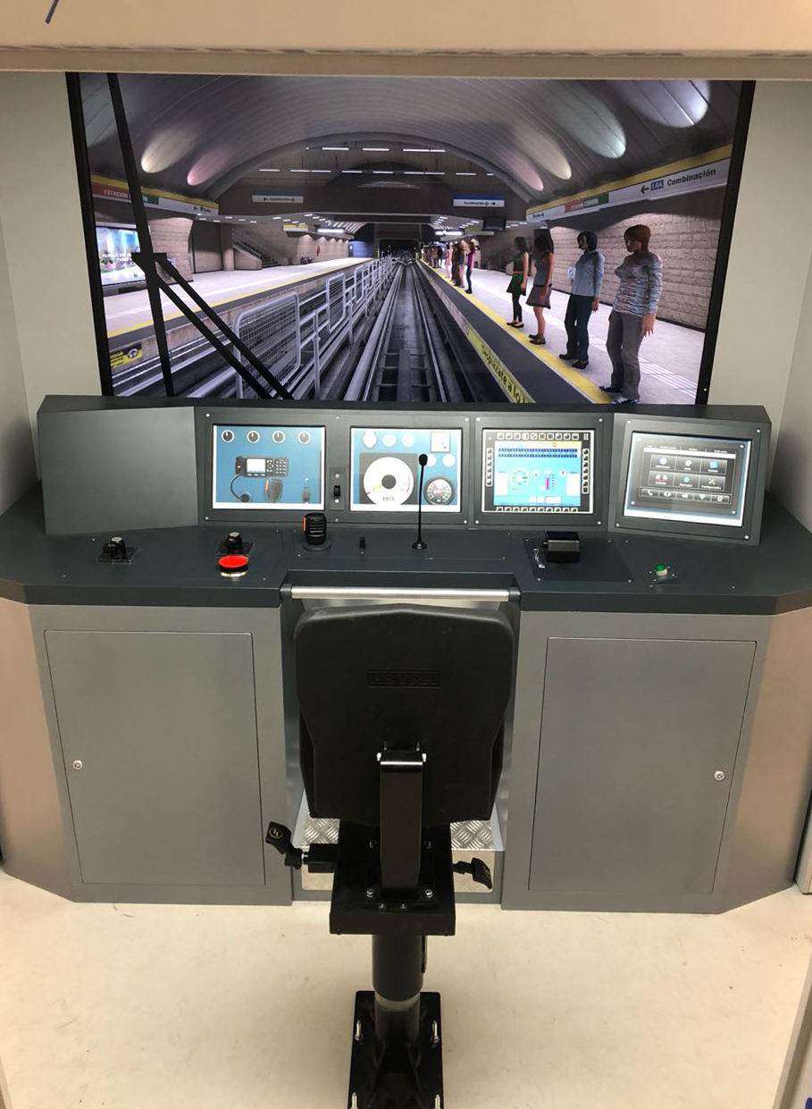 Nuevo simulador de formación para Metro de Santiago 02