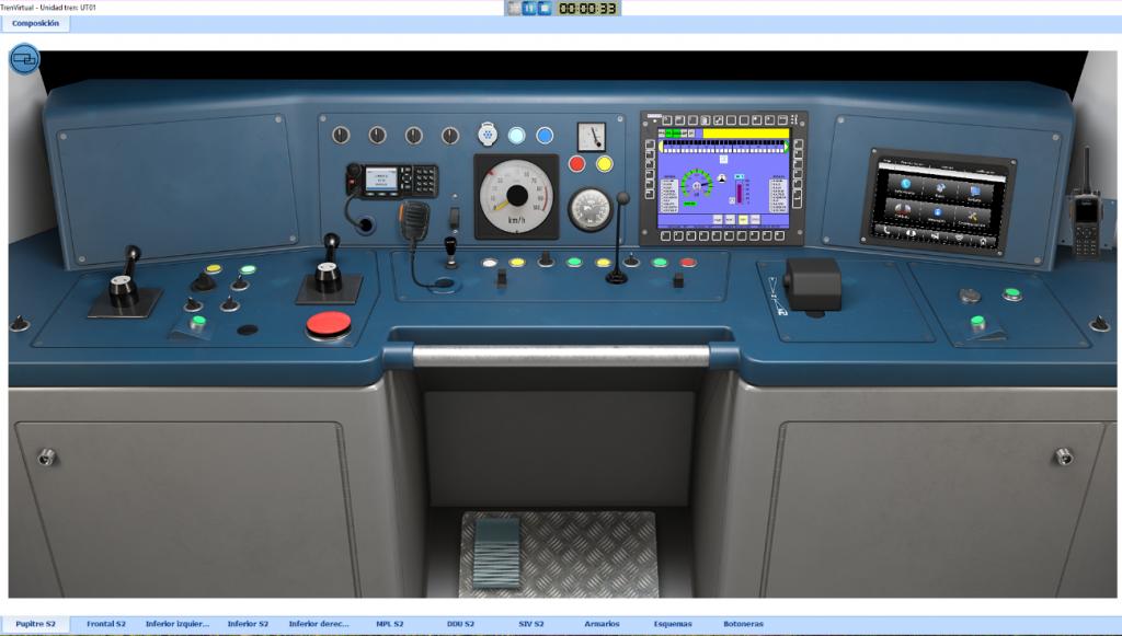 Novo simulador de treinamento para o Metrô de Santiago