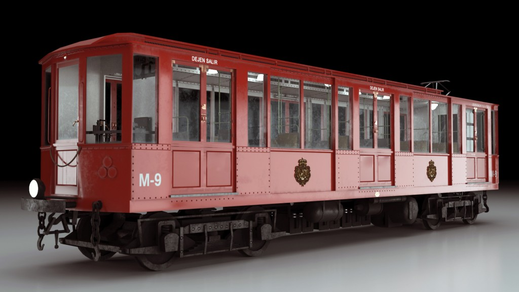 Simulation of classic trains for Metro Madrid