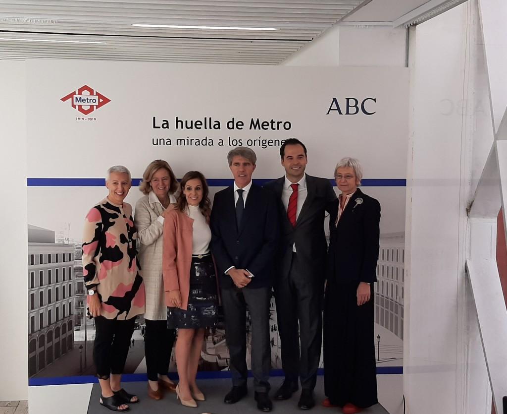 Inaugurada la exposición del centenario de Metro Madrid. La Huella del Metro