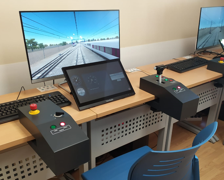 CEFF's training simulators for operation with ERTMS-ETCS