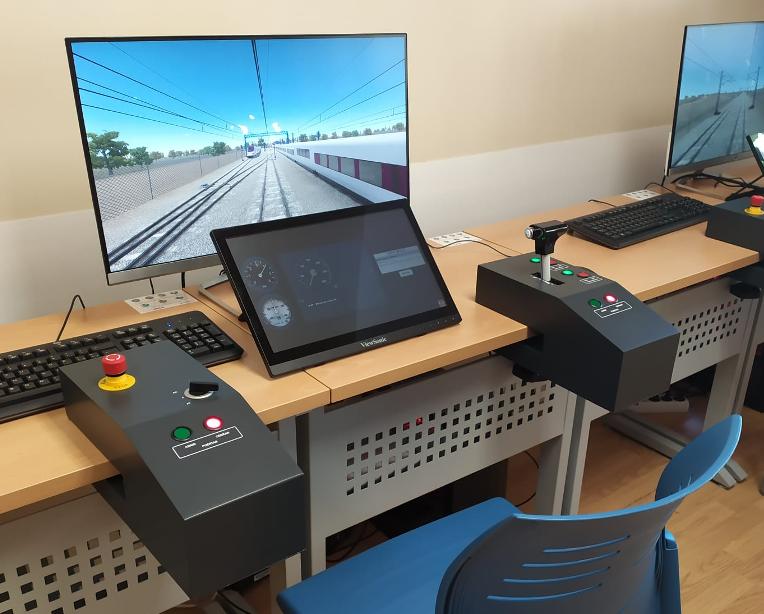 Simuladores para a formação em condução com de ERTMS-ETCS do CEFF