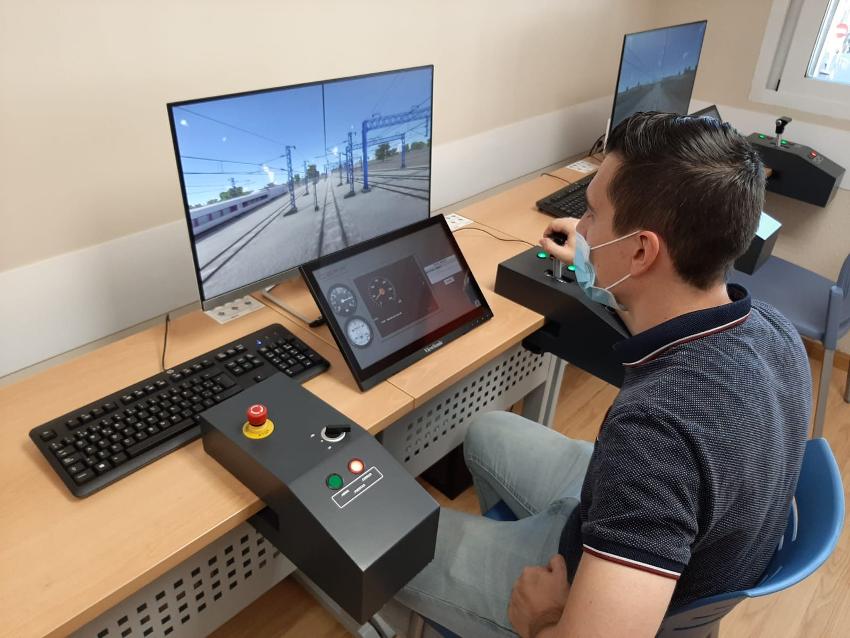 Zona interactiva de realidad virtual de Metro de Madrid 03