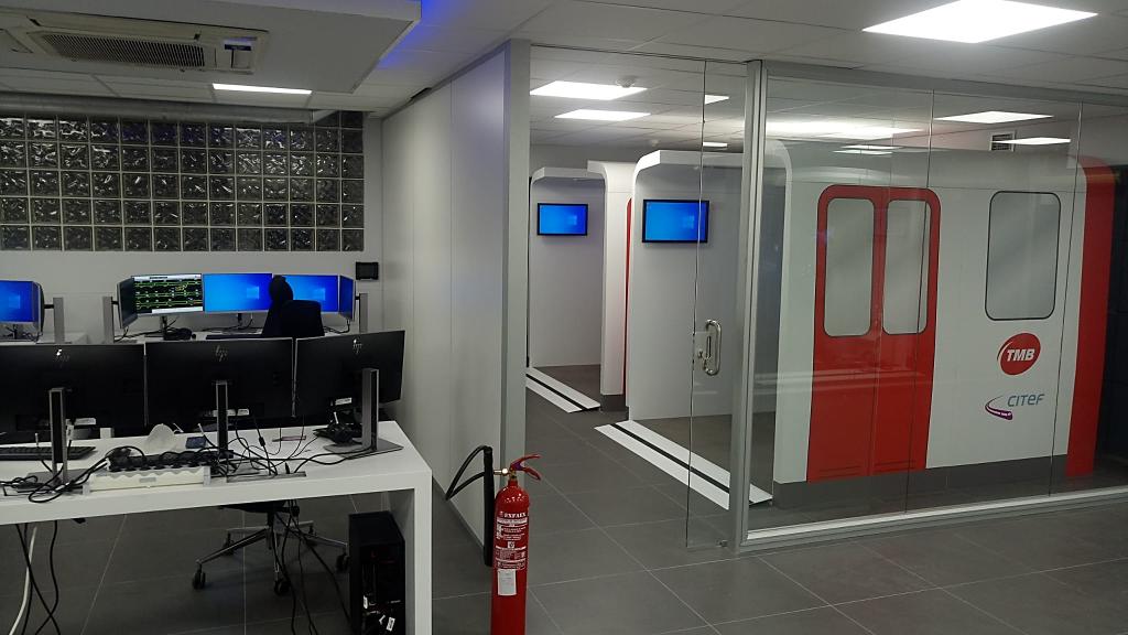 Novo simulador integral de condução, resolução de avarias e operação da Ferrocarril Metropolita de Barcelona